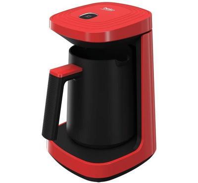 بيكو صانعة قهوة تركية، 4 اكواب، 600 واط، أحمر