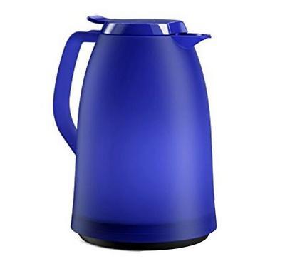 أمسا، ترمس لحفظ السوائل بسعة 1 لتر، حار طويل الأمد، مادة بلاستيكية، أزرق