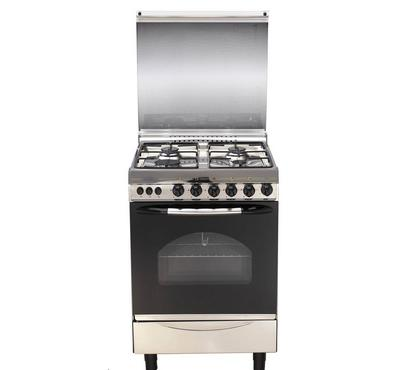 Prolux 55x55 4 Burner Gas Cooker, Stainless Steel.
