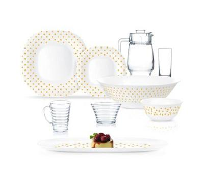 Luminarc 40 Pcs Dinner Set, Glass