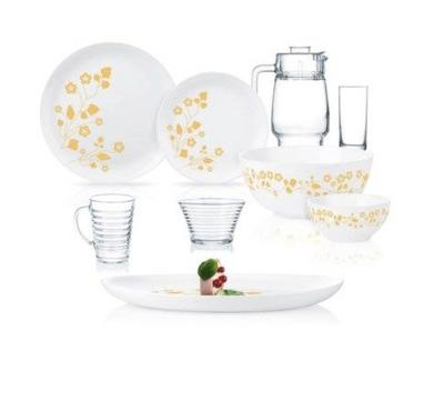 Luminarc 40 Pcs Dinner Set, White
