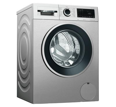 Bosch 9Kg Serie 4 Front Load Washer, 1200rpm,  Silver