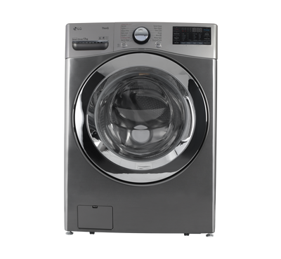 LG Front Load Washer, 17kg, Steam, Wi-Fi, 6 Motion, Stainless Silver