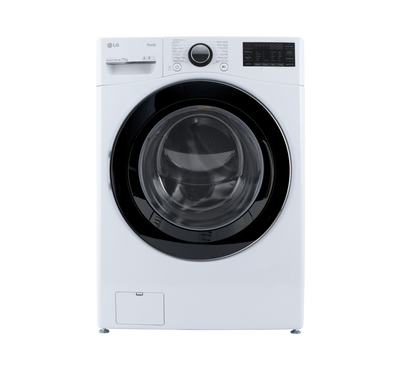 LG Front Load Washer, 17kg, Steam, Wi-Fi, 6 Motion, White