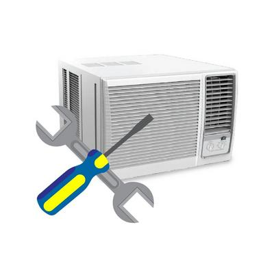 Window AC Installation Charges, Without Piping and Base