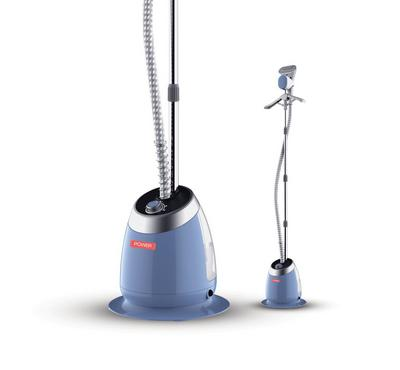 Power 1580 Watts Garment Steamer, Blue.