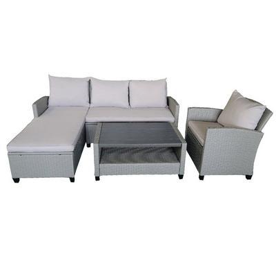 Aurora, Outdoor Corner Sofa set, 3 Pcs, 4 Seater