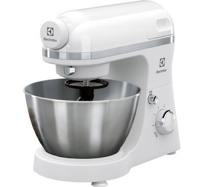 Electrolux Kitchen Machine 800W, 4L, 6 Speed+Pulse, White