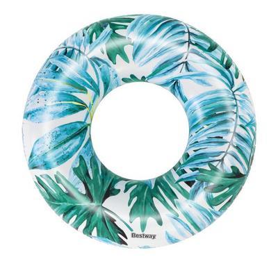 Bestway, Tropical Palms Swimming Pool Ring, 119Cm