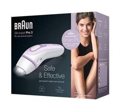 Braun Silk Expert Pro 3, Precision Head, Venus Smooth Razor, White