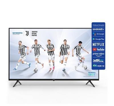 Skyworth, 70 Inch 4K, Smart LED TV, 70SUC9400