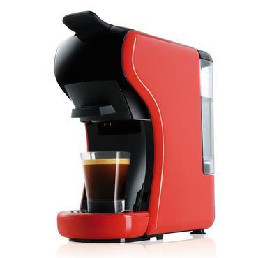 Optima 1450 Watts Coffee Maker, Red & Black.