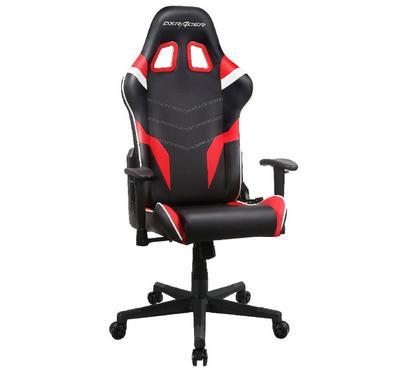 دي اكس ريسر، كرسي ألعاب، أسود/أبيض/أحمر