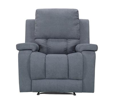Homez, Recliner Chair With Rocking And Swivel Function, Dark Grey, Fabric