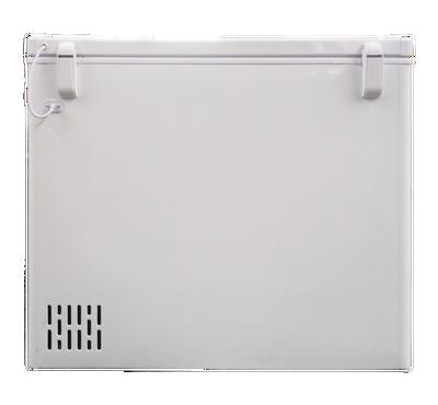 DE 420 Ltr Chest Freezer, White.