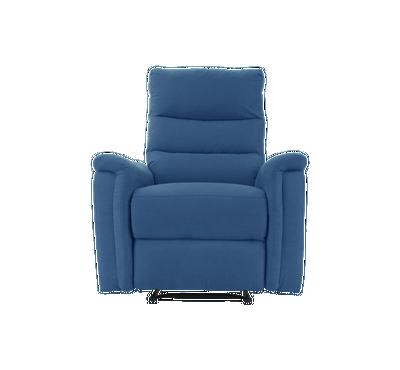 هوميز، كرسي إسترخاء، لون أزرق، قماش