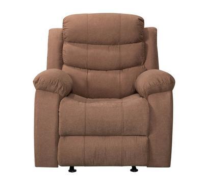 هوميز، كرسي إسترخاء مع خاصيتي الدوران، لون بني كما الشوكولا، قماش