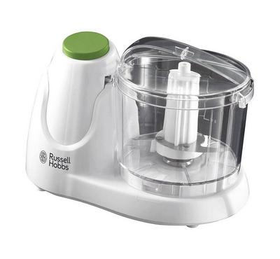 Russell Hobbs 0.5 Ltrs Mini Chopper, 130 Watts Power, One Button Operation, White