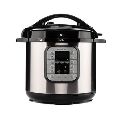 Kenwood 16-In-1 Pressure Cooker, 1000W, 8L Capacity, Silver