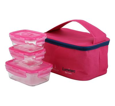 Luminarc 3 Pcs Pure Box Set with Lunch Bag