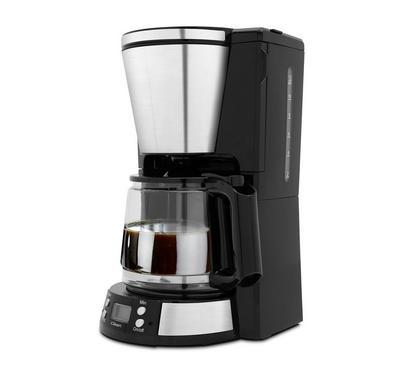 Clikon 1000 Watts Coffee Maker, 1.5 Ltr Capacity, Swing Filter Holder, Fuchsia.