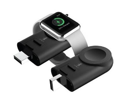 Smart AirConnect Premium Apple Watch Wireless Charger, Black