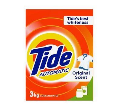 Tide 3KG Automatic Laundry Powder Detergent Original, 2 Packages