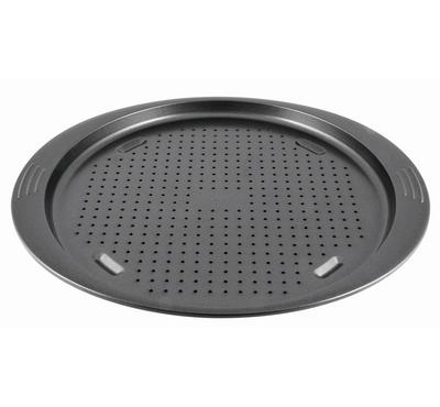 Tefal Easy Grip Perforated Pizza 34cm, Dark Grey