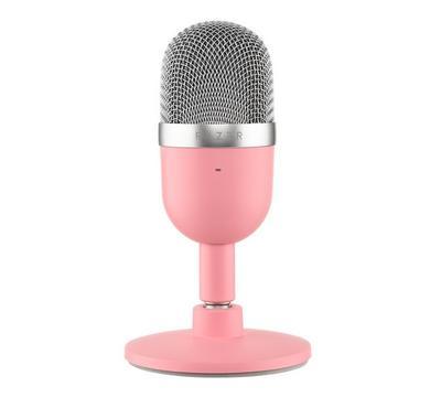 Razer, Seiren Mini Ultra Compact Condenser Microphone, Pink