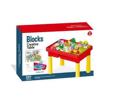Bricks, Blocks Creative Table, 56Pcs, 22-1971213