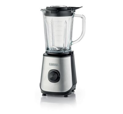 Ariete 0579 ,Blender Glass W/2 Mill Powerful ,1000 W,Silver & Black