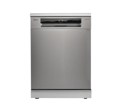 Midea Dishwasher, 15 place setting, 8 programs, Stainless steel
