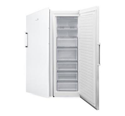 Zenet 200 Ltr Upright Freezer, 5 Drawers, Frost Free, White.