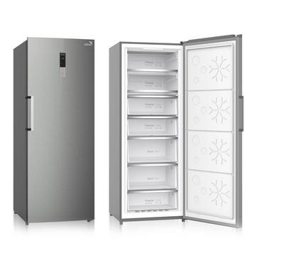 Zenet 415 Ltr Upright Freezer, 7 Drawer, Refrigerent R600a, Frost Free,White.