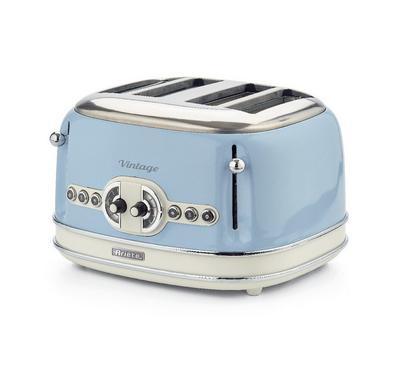 Ariete 1600 Watts 4 Slice Bread Toaster,Blue