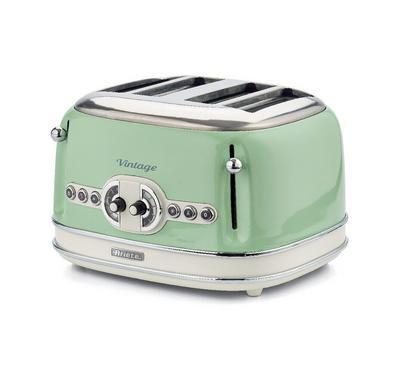 Ariete 1600 Watts 4 Slice Bread Toaster, Green