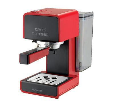 Ariete 850 Watts Coffee Maker, 15 Bar Pressure, Red