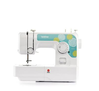 Brother Mechanical Sewing Machine, 50W, 14 Built-in Stiches, White