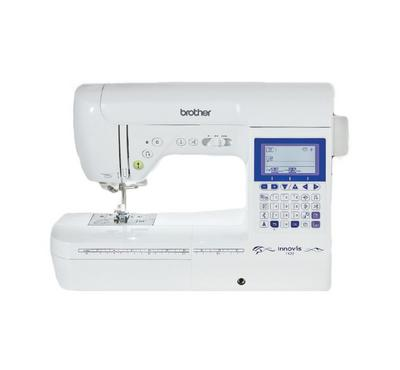 Brother Computerized Sewing Machine, 180 Built-in sewing Stitches 55W, White