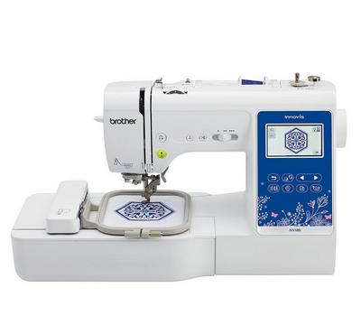 Brother Computerized Sewing and Embroidery, 45W, White