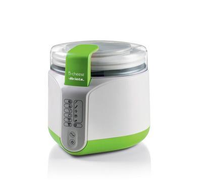 Ariete 500W Cheese/Yogurt Maker, 6 Programs, White/Green