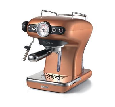 Ariete 850 Watts Classica Expresso Machine, 0.9 Ltr,15 Bar Pressure, Copper.