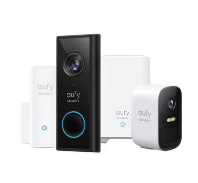 يوفي، مجموعة الحماية الذكي، فيديو دور بيل+حساس داخلي+كاميرا 2 سي برو