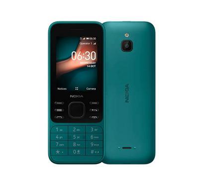 نوكيا 6300 ، الجيل الرابع ، شريحتين ، 4 جيجا ، 2.4 بوصة ، أزرق