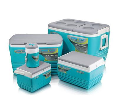 Pinnacle 5 Pcs Cooler Set, 57L + 34.5L + 11L + 4.5L + 1L, Blue