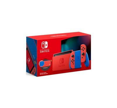 نينتندو سويتش، وحدة تحكم نينتندو سويتش، أحمر و أزرق، مع ثلاث ألعاب