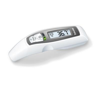 Beurer Multifunctional Thermometer, Forehead + Ear Measurement, White