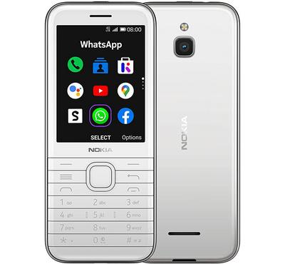 Nokia 8000 TA-1311, 2.8-Inch ,4GB, White