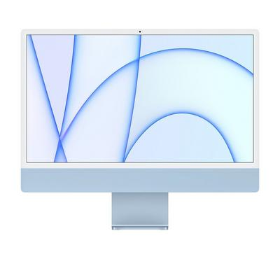 Apple iMac MGPK3 AIO 2021, Apple M1, 24 inch, 8GB, 256GB, Blue