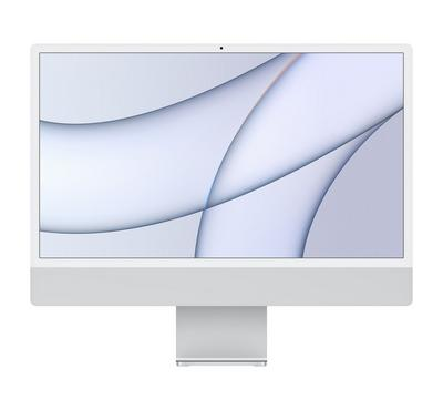 Apple iMac MGTF3 AIO, Apple M1, 24 inch, 8GB, 256GB, Silver
